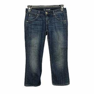 Hudson Jeans Women's Sz 26Slim Crop Capri  (k-33)